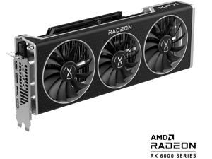 XFX SPEEDSTER QICK 319 AMD Radeon RX 6800 BLACK Gaming Graphics Card with 16GB GDDR6 HDMI 3 x DP, AMD RDNA 2 (RX-68XLALBD9)