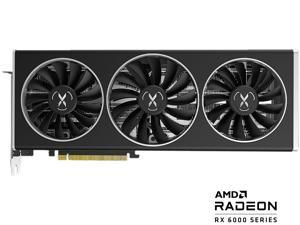 XFX SPEEDSTER MERC319 AMD Radeon RX 6700 XT BLACK Gaming Graphics Card with 12GB GDDR6 HDMI 3xDP, AMD RDNA 2 (RX-67XTYTBDP)