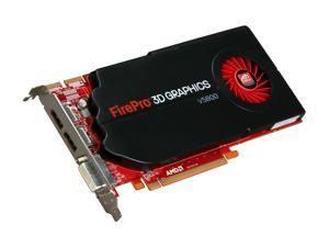 AMD FirePro V5800 100-505605 1GB 128-bit GDDR5 PCI Express 2.0 x16 CrossFire Supported Workstation Video Card