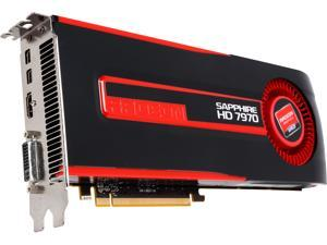 SAPPHIRE Radeon HD 7970 3GB GDDR5 PCI Express 3.0 CrossFireX Support MBA with blower fan Video Card 21197-00-CPO