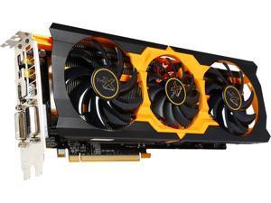 SAPPHIRE Radeon R9 280X 100363-4L 3GB 384-Bit GDDR5 PCI Express 3.0 CrossFireX Support Video Card Tri-X OC version - Certified Refurbished