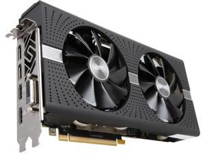 Sapphire Radeon NITRO+ RX 570 4GB GDDR5 PCI-E Dual HDMI / DVI-D / Dual DP w/ Backplate (UEFI), 100412NT+4GL