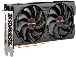 SAPPHIRE PULSE Radeon RX 5500 XT DirectX 12 100418P8GL 8GB 128-Bit GDDR6 PCI Express 4.0 ATX Video Card