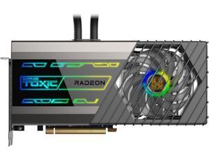 SAPPHIRE TOXIC Radeon RX 6900 XT DirectX 12 Ultimate 11308-06-20G 16GB 256-Bit GDDR6 PCI Express 4.0 ATX Video Card