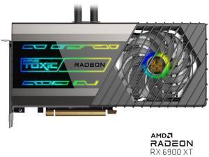 Sapphire TOXIC AMD RADEON RX 6900 XT GAMING OC Video Card, 16GB GDDR6 EXTREME EDITION HDMI / TRIPLE DP