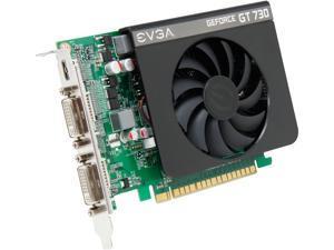 EVGA GeForce GT 730 1GB DDR3 PCI Express 2.0 Video Card 01G-P3-2731-KR