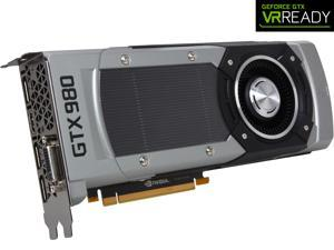 EVGA GeForce GTX 980 04G-P4-2982-KR 4GB SC GAMING, Silent Cooling Graphics Card