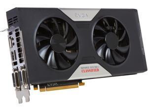 EVGA GeForce GTX 780 Ti 3GB GDDR5 PCI Express 3.0 x16 SLI Support Video Card 03G-P4-2887-KR
