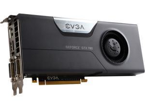 EVGA SuperClocked GeForce GTX 780 3GB GDDR5 PCI Express 3.0 SLI Support Video Card 03G-P4-2785-RX
