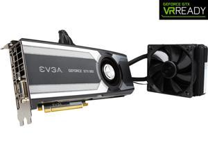 "EVGA GeForce GTX 980 04G-P4-1989-KR 4GB HYBRID GAMING, ""All in One"" No Hassle Water Cooling, Just Plug and Play Graphics Card"