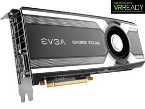 EVGA GeForce GTX 980 04G-P4-1980-KR 4GB GAMING, Silent Cooling Graphics Card