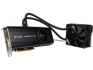 """EVGA GeForce GTX TITAN X 12G-P4-1999-KR 12GB HYBRID GAMING, """"All in One"""" No Hassle Water Cooling, Just Plug and Play Graphics Card"""