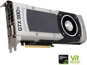 EVGA GeForce GTX 980 Ti 6GB GDDR5 PCI Express 3.0 SLI Support Reference (NV Direct Board) Video Card 06G-P4-4990-RX