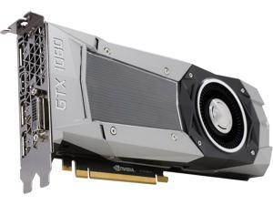EVGA GeForce GTX 1080 08G-P4-6180-RX Founders Edition, 8GB GDDR5X, LED, DX12 OSD Support (PXOC) Graphics Card