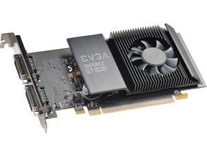 EVGA GeForce GT 1030 DirectX 12 02G-P4-6338-KR 2GB 64-Bit GDDR5 PCI Express 3.0 Video Card