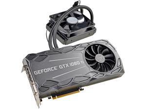 EVGA GeForce GTX 1080 Ti FTW3 HYBRID GAMING, 11G-P4-6698-KR, 11GB GDDR5X, HYBRID & RGB LED, iCX Technology - 9 Thermal Sensors