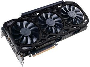 EVGA GeForce GTX 1080 Ti FTW3 ELITE GAMING BLACK, 11G-P4-6796-K2, 11GB GDDR5X, iCX Technology - 9 Thermal Sensors & RGB LED G/P/M