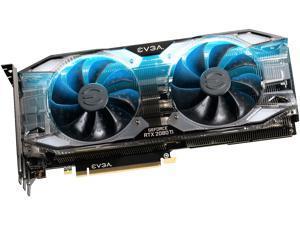 EVGA GeForce RTX 2080 Ti XC ULTRA GAMING, 11G-P4-2383-KR, 11GB GDDR6, Dual HDB Fans & RGB LED