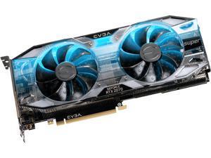EVGA GeForce RTX 2070 SUPER XC GAMING, 08G-P4-3172-KR, 8GB GDDR6, Dual HDB Fans, RGB LED, Metal Backplate