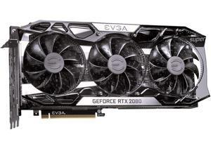 EVGA GeForce RTX 2080 SUPER FTW3 GAMING, 08G-P4-3283-KR, 8GB GDDR6, iCX2 Technology, RGB LED, Metal Backplate