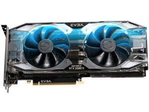 EVGA GeForce RTX 2080 Ti XC ULTRA GAMING Video Card, 11G-P4-2383-RX, 11GB GDDR6, Dual HDB Fans & RGB LED