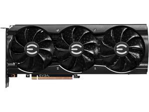 EVGA GeForce RTX 3080 XC3 BLACK GAMING Video Card, 10G-P5-3881-KL, 10GB GDDR6X, iCX3 Cooling, ARGB LED, LHR