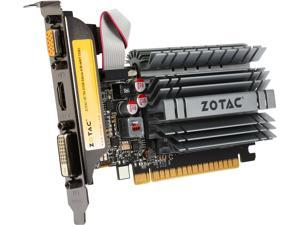 ZOTAC GeForce GT 730 DirectX 12 (feature level 11_0) ZT-71115-20L 4GB 64-Bit DDR3 PCI Express 2.0 Zone Edition Video Card