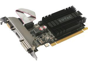 ZOTAC GeForce GT 710 DirectX 12 ZT-71301-20L 1GB 64-Bit DDR3 PCI Express 2.0 x8 Video Card