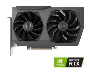 ZOTAC GAMING GeForce RTX 3070 Twin Edge 8GB GDDR6 256-bit 14 Gbps PCIE 4.0 Gaming Graphics Card, IceStorm 2.0 Advanced Cooling, White LED Logo Lighting, ZT-A30700E-10P
