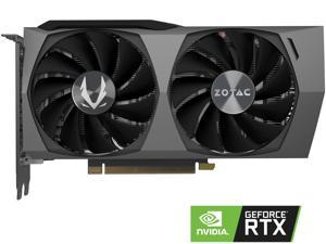 ZOTAC GAMING GeForce RTX 3060 Ti Twin Edge 8GB GDDR6 256-bit 14 Gbps PCIE 4.0 Gaming Graphics Card, IceStorm 2.0 Advanced Cooling, Active Fan Control, ZT-A30610E-10M