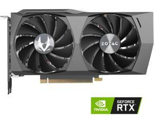 ZOTAC GAMING GeForce RTX 3060 Twin Edge 12GB GDDR6 192-bit 15 Gbps PCIE 4.0 Gaming Graphics Card, IceStorm 2.0 Cooling, Active Fan Control, FREEZE Fan Stop, ZT-A30600E-10M