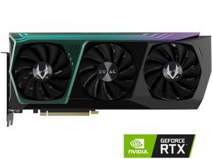 ZOTAC GAMING GeForce RTX 3090 AMP Core Holo 24GB GDDR6X 384-bit 19.5 Gbps PCIE 4.0 Gaming Graphics Card, HoloBlack, IceStorm 2.0 Advanced Cooling, SPECTRA 2.0 RGB Lighting, ZT-A30900C-10P