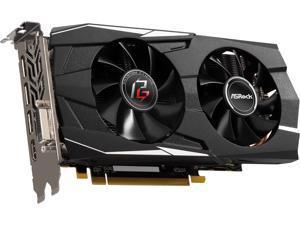 ASRock Phantom Gaming D Radeon RX 580 DirectX 12 RX580 8G OC 8GB 256-Bit GDDR5 PCI Express 3.0 x16 HDCP Ready Video Card