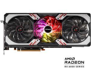 ASRock Radeon RX 6800 Phantom Gaming D Gaming Graphics Card with 16GB GDDR6, AMD RDNA 2 (RX6800 PGD 16GO)