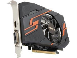 GIGABYTE GeForce GT 1030 DirectX 12 GV-N1030OC-2GI 2GB 64-Bit GDDR5 PCI Express x16 Video Card