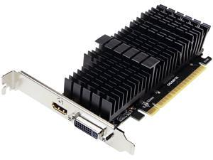 GIGABYTE GeForce GT 710 DirectX 12 GV-N710D5SL-2GL 2GB 64-Bit GDDR5 PCI Express 2.0 x8 Low Profile Video Card