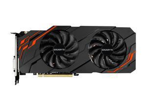 GIGABYTE GeForce GTX 1070 Ti DirectX 12 GV-N107TWF2-8GD 8GB 256-Bit GDDR5 PCI Express 3.0 x16 SLI Support ATX Video Card