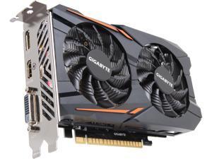 GIGABYTE GeForce GTX 1050 2GB GDDR5 PCI Express 3.0 x16 ATX Video Card GV-N1050OC-2GD