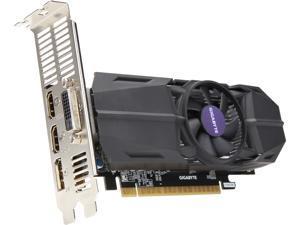 GIGABYTE GeForce GTX 1050 Ti 4GB GDDR5 PCI Express 3.0 x16 Low Profile Video Card GV-N105TOC-4GL