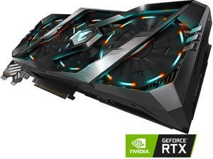 GIGABYTE AORUS GeForce RTX 2080 Ti DirectX 12 GV-N208TAORUS-11GC 11GB 352-Bit GDDR6 PCI Express 3.0 x16 SLI Support ATX Video Card