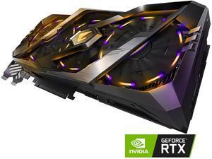 GIGABYTE AORUS GeForce RTX 2080 8G Graphics Card, 3 x Stacked WINDFORCE Fans, 8GB 256-Bit GDDR6, GV-N2080AORUS-8GC Video Card