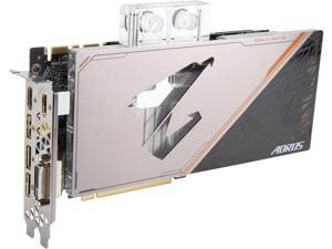 GIGABYTE AORUS GeForce GTX 1080 Ti 11GB GDDR5X PCI Express 3.0 x16 ATX Video Card GV-N108TAORUSX WB-11GD