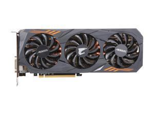 GIGABYTE AORUS GeForce GTX 1070 Ti DirectX 12 GV-N107TAORUS-8GD 8GB 256-Bit GDDR5 PCI Express 3.0 x16 SLI Support ATX Video Card