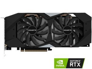 GIGABYTE GeForce RTX 2060 WINDFORCE OC 6G Graphics Card, 2 x WINDFORCE Fans, 6GB 192-Bit GDDR6, GV-N2060WF2OC-6GD Video Card