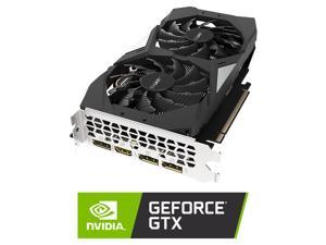 GIGABYTE GeForce GTX 1660 Ti OC 6G Graphics Card, 2 x WINDFORCE Fans, 6GB 192-Bit GDDR6, GV-N166TOC-6GD Video Card