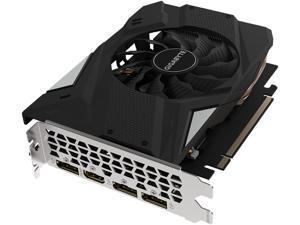 GIGABYTE GeForce GTX 1660 Ti MINI ITX OC 6G Graphics Card, Mini ITX Form Factor, 6GB 192-Bit GDDR6, GV-N166TIXOC-6GD Video Card