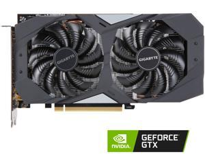 GIGABYTE GeForce GTX 1660 OC 6G Graphics Card, 2 x WINDFORCE Fans, 6GB 192-Bit GDDR5, GV-N1660OC-6GD Video Card