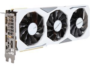 GIGABYTE GeForce RTX 2080 8GB GDDR6 PCI Express 3.0 x16 SLI Support ATX Video Card GV-N2080GAMINGOC WHITE-8GC