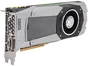 GIGABYTE GeForce GTX 1080 FE 8GB GDDR5X PCI Express 3.0 x16 SLI Support ATX Video Card GV-N1080D5X-8GD-B