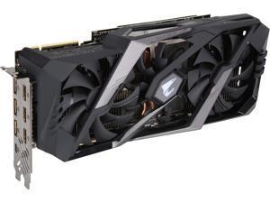 GIGABYTE AORUS GeForce RTX 2080 Ti DirectX 12 GV-N208TAORUS X-11GC 11GB 352-Bit GDDR6 PCI Express 3.0 x16 SLI Support ATX Video Card